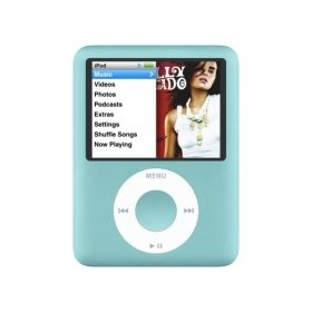 iPod nano 3rd Generation 8GB MP3 Player - Blue