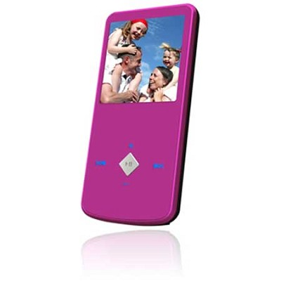 eJam II 4GB Flash MP3 Player w/ Video Player 1.5` LCD (Pink)