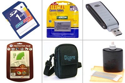 Bargain Accessory Kit for Coolpix S10