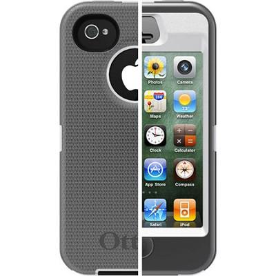 OB iPhone 4/4S Defender - White / Gunmetal Grey