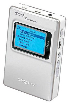 Nomad Jukebox ZEN XTRA 30GB MP3 Player