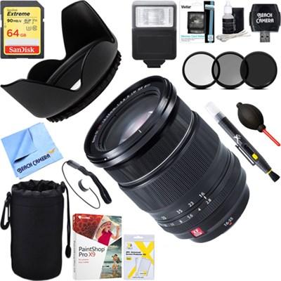 Fujinon XF 16-55mm f/2.8 R LM WR Standard Zoom Lens + 64GB Ultimate Kit
