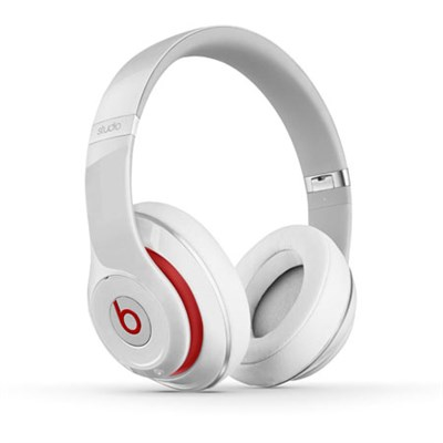 Studio 2.0 Wired Over Ear Headphone - White (MH7E2AM/A)