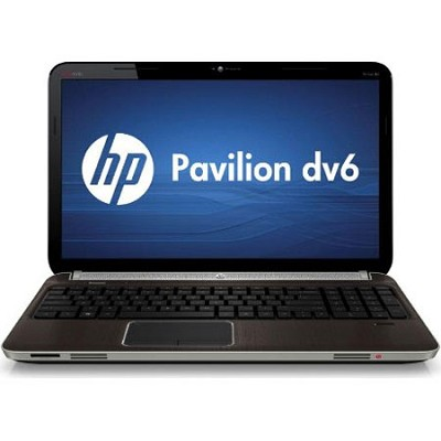 Pavilion 15.6` DV6-6140US Entertainment Notebook PC - AMD Quad-Core A8-3500M