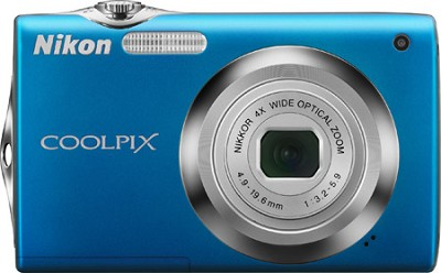 COOLPIX S3000 Digital Camera (Blue)