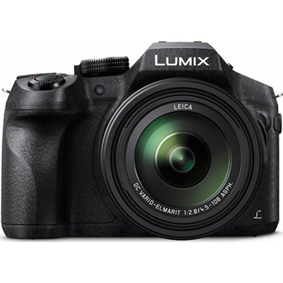 DMC-FZ300K LUMIX FZ300 4K 24X F2.8 Long Zoom Digital Camera - Black - OPEN BOX