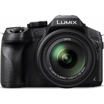 DMC-FZ300K LUMIX FZ300 4K 24X F2.8 Long Zoom Digital Camera - Black - OPEN BOX