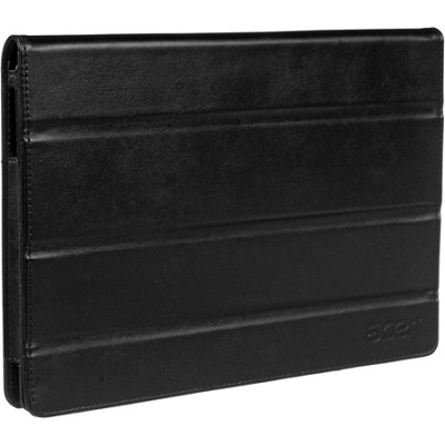 Iconia Tab A500 Foldable Leather Protective Case