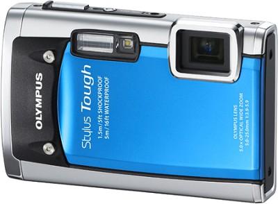 Stylus Tough 6020 Waterproof Shockproof Freezeproof 14MP Digital Camera (Blue)