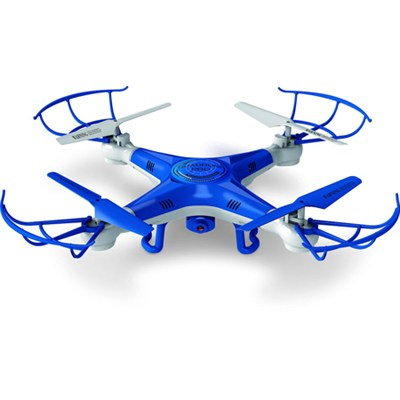 Quadrone Quadcopter 4 Channel 2.4GHz RC Drone with Video and Photo