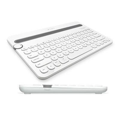 BT Multi Device Keybrd Wht