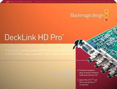 DeckLink HD Pro Dual Link
