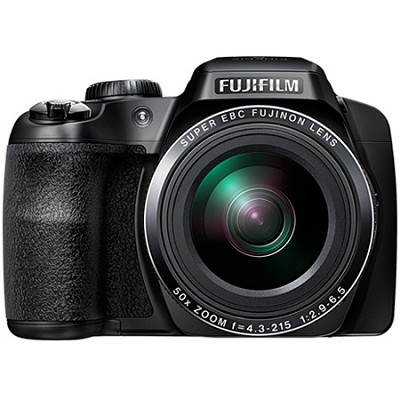 FinePix S9400W 16.2 MP HD 1080i Digital Camera - Black