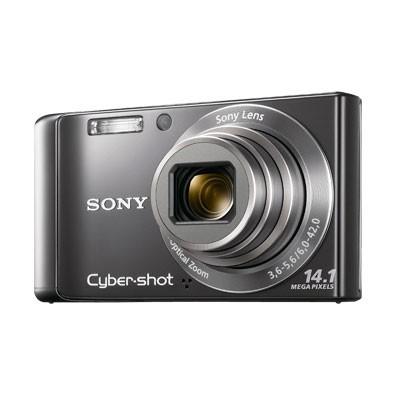 Cyber-shot DSC-W370 14MP Silver Digital Camera w/ 720p HD Video - REFURBISHED