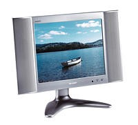 LC-20B4U-S 20` LCD Television w/Built-in TV Tuner