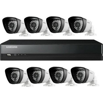 16CH 8 IP66 720TVL Cameras DVR Security System with 1TB HDD