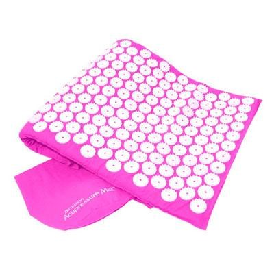 Zenzation Athletics Acupressure Mat and Carry Bag in Pink - WTE10452PK
