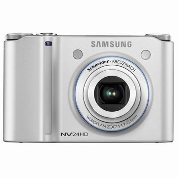 NV24HD 10MP 2.5` LCD Digital Camera (Silver)