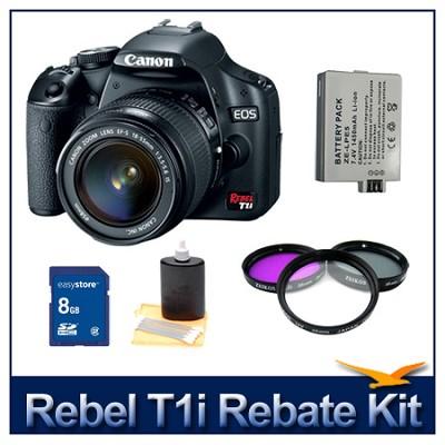 EOS Rebel T1i EF-S 18-55mm IS Pro Photo Kit