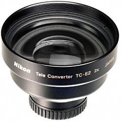 TC-E2 2x Tele-Converter Lens for COOLPIX 4300 CAMERAS