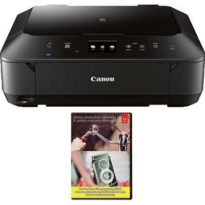 Wireless Photo All-in-One Inkjet Cloud Printer (Black) + Adobe PEPE12