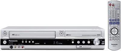 DMR-ES45VS Progressive DVD/VCR Combo Recorder w/ HDMI HD Conv, SD Slot, DV Input