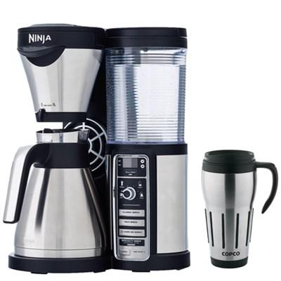 CF085 Coffee Bar Auto-iQ Brewer w/Thermal Carafe w/ Copco 24oz Travel Mug Bundle