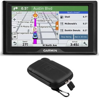 Drive 50LM GPS Navigator Lifetime Maps (US) 010-01532-0C Soft Case Bundle