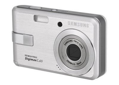 Digimax L60 Digital Camera (Silver)