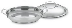 Chef's Classic 12-Inch Stainless Everyday Pan with Dome Cover