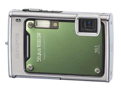 Stylus 1030 SW 10MP Shockproof Waterproof Digital Camera (Green)