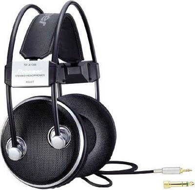 SE-A1000 - Lightweight Audiophile Over-Ear Stereo Headphones - OPEN BOX