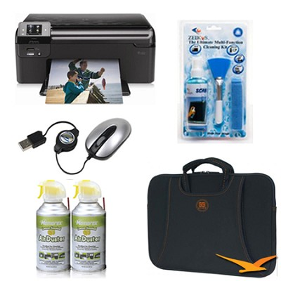 11.6` Netbook Essentials and Wireless Printer Bundle