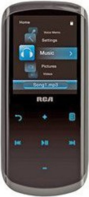 TH2004 4GB MP3 Player With Touch-Sensitive Controls