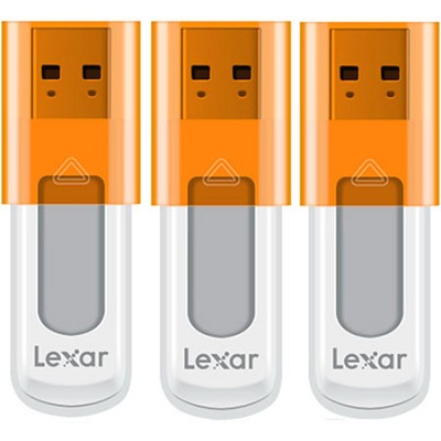 16 GB JumpDrive High Speed USB Flash Drive (Orange) 3-Pack (48GB Total)