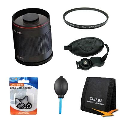 Super Lens Kit for the Vivitar Universal V500MM Mirror Lens F6.3