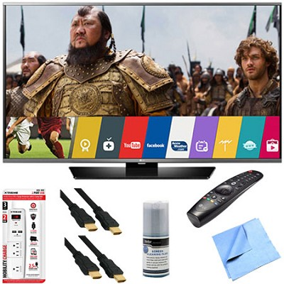 55LF6300 - 55-inch 1080p 120Hz LED Smart HDTV w/ Magic Remote and Hook-Up Bundle