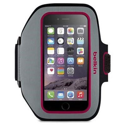 Sport-Fit Plus Armband in Sidewalk and Fuchsia for Apple iPhone 6 - F8W501-C01