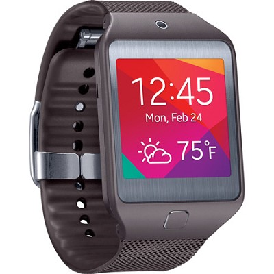 Gear 2 Neo Dust and Water Resistant Grey Watch with Heart Rate Sensor