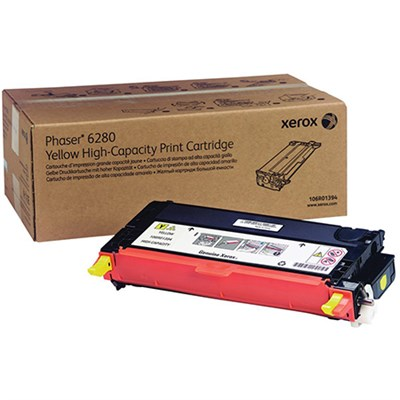 Yellow High Capacity Print Cartridge for Phaser 6280 - 106R01394