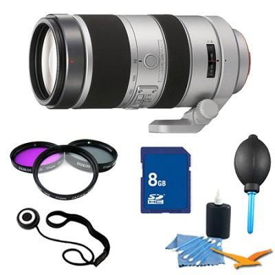 SAL70400G - Sony System 70-400mm F4-5.6 G SSM Lens Essentials Kit