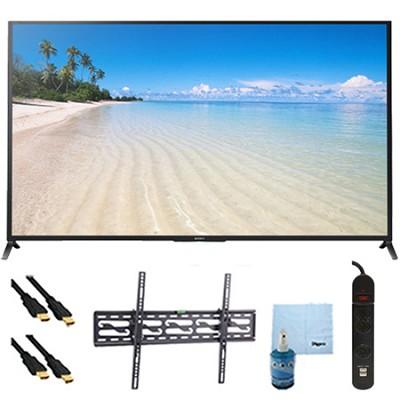 60` 1080p 120Hz Smart 3D LED HDTV Plus Tilt Mount Hook-Up Bundle - KDL60W850B