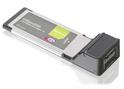 2-Port eSATA 3Gbps ExpressCard/34 - GPS702e3 - OPEN BOX