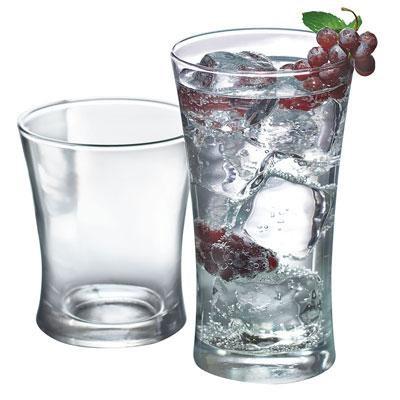 Linden 16pc Drinkware Set