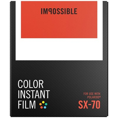 PRD4512 SX 70 Film - Color - Works with Spectra Cameras