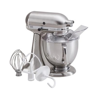5-Quart Tilt-Head Stand Mixer in Brushed Nickel - KSM152PSNK
