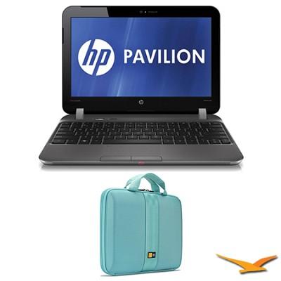 Pavilion 11.6` DM1-4010US Entertainment Notebook and Case Bundle