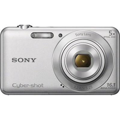 DSCW710 16 MP 2.7-Inch LCD Digital Camera - Silver