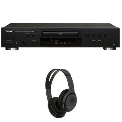 CD-P650-B CD Player with USB + iPod Interface w/ Xtreme Bluetooth Headphones