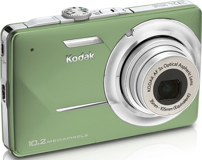 EasyShare M340 10.2 MP 2.7` LCD Digital Camera (Green)